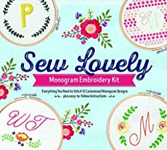 Sew Lovely Monogram Embroidery Kit