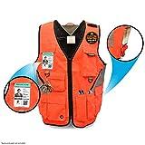 KwikSafety EXTENDED SIZING   ARTISAN Tool Vest   Multi Pocket Lightweight Work Wear   Hi Vis Volunteer Emergency Crew Surveyor Carpenter Electrician Engineer   Men & Women   2XL/3XL