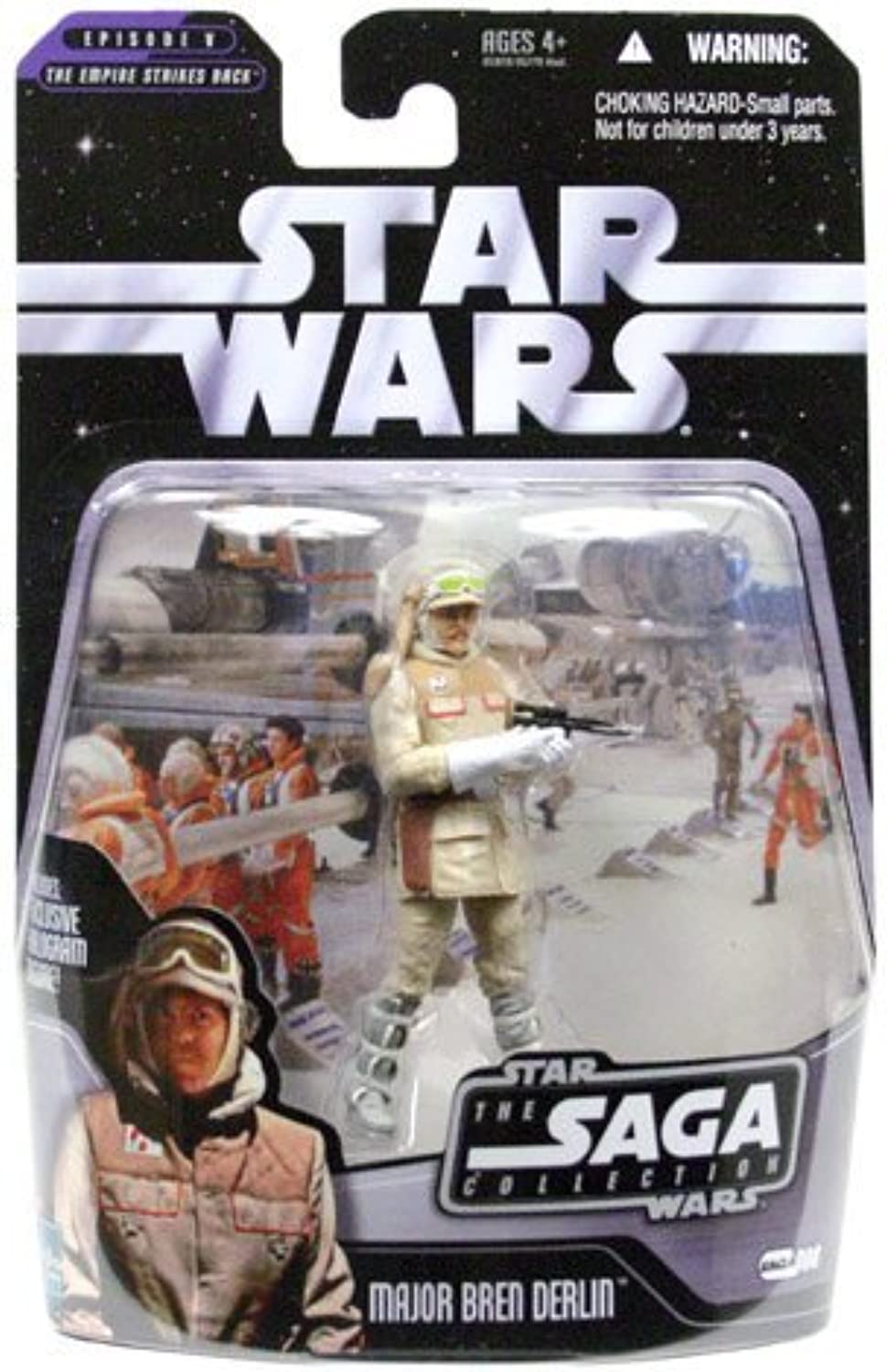 Star Wars - Assault on Hoth Echo Base - Basic Figure - Major Bren Derlin by Hasbro (English Manual) B00NZGJUFW Vollständige Spezifikation   | Moderne Muster