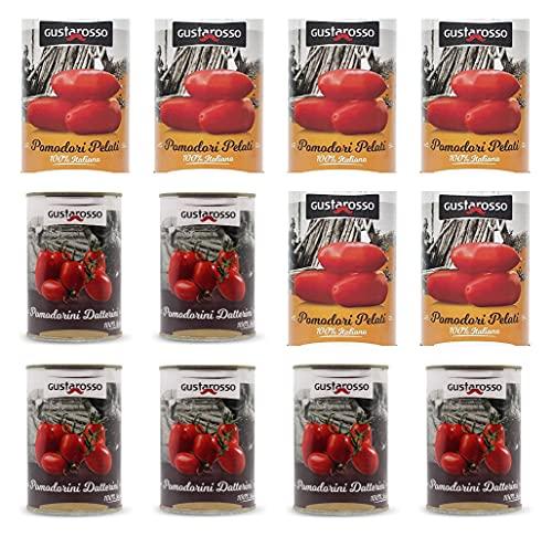 Selezione Pomodori Gustarosso da 400 gr (confezione da 12)