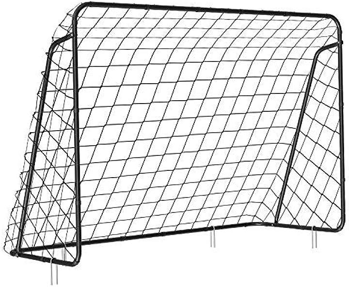 Porta da calcio per bambini, di assemblaggio velce, in giardino,songmics B07ZZ6R4ZB