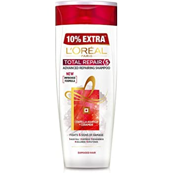 L'Oreal Paris Total Repair 5 Shampoo, 360ml (With 10% Extra)