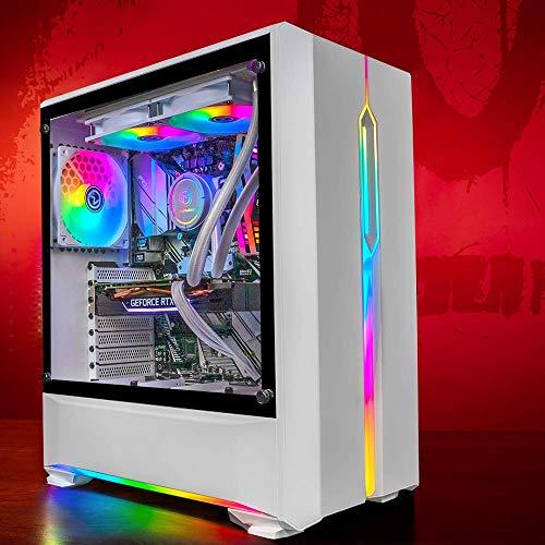 GameMachines Onyx - RGB Gaming PC - Wasserkühlung- Intel® Core™ i7 9700F - NVIDIA GeForce RTX 2070 SUPER - 500GB SSD - 2TB Festplatte - 16GB DDR4 - WLAN - Win 10 Pro