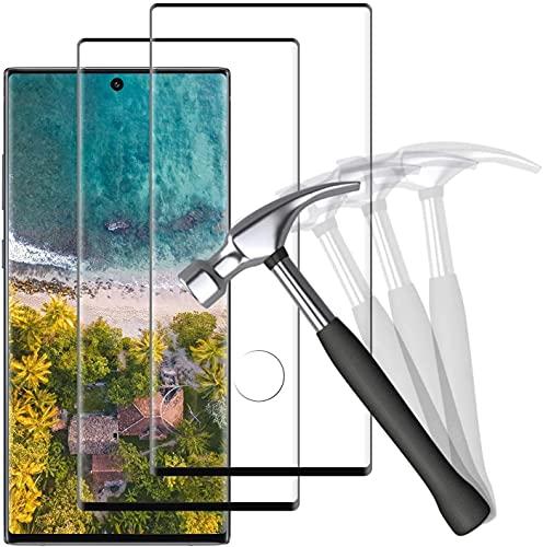 NUOCHENG [2 Stück Panzerglas Schutzfolie für Samsung Galaxy Note 10 Plus, HD Klar Panzerglasfolie, Anti-Kratzen, 9H Festigkeit, Anti-Bläschen, Bildschirmschutzfolie für Samsung Galaxy Note 10 Plus