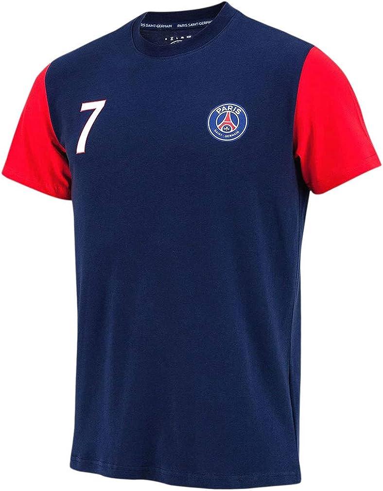 colore: blu Maglietta ufficiale Paris Saint-Germain Kylian Mbappé ...