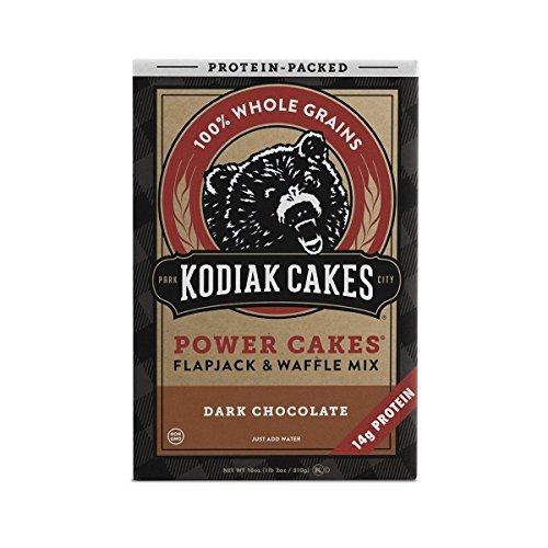 Kodiak Cakes Protein Pancake Power Cakes, Flapjack and Waffle Baking Mix, Dark Chocolate, 18 Ounce