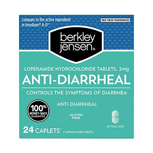 Berkley Jensen Anti-Diarrheal Medicine Loperamide Hydrochloride Tablets 2 mg - New Presentation
