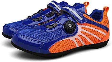 KLGZ Chaussures De V/élo Cyclisme sur Route Respirante Antid/érapante Professionnelle Verrouillage Chaussures De Sport Activit/és De Plein Air Chaussures De V/élo