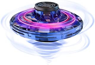 FlyNova Flying Spinner, 2020 Upgraded The Most Tricked-out Hand Drones for Kids Adults, Hand Operated Drone with 360° Rota...