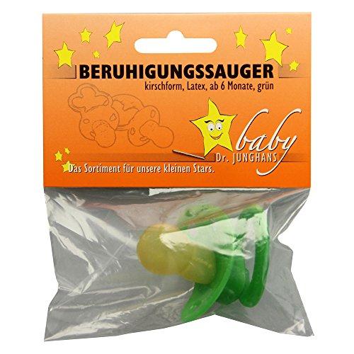 BERUHIGUNGSSAUGER Kirschf.Lat.ab 6 M.grün 1 St