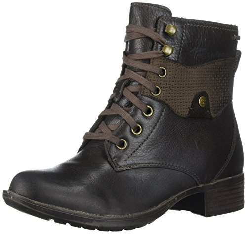 Rockport Women's Copley Waterproof Lace Up Winter Boot, Stone Leather, 11 M US