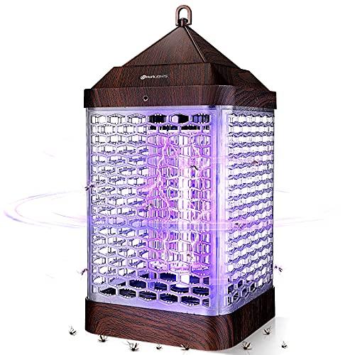 YUNLIGHTS Lampada Antizanzare Elettrica, 9W Lampada Antizanzare Luce UV Insetti Zanzare Elettrico,Antizanzare per Insetticida Zanzare per Casa Giardino Interno Esterno Cucina