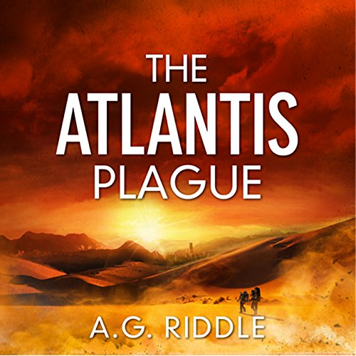 The Atlantis Plague audiobook cover art