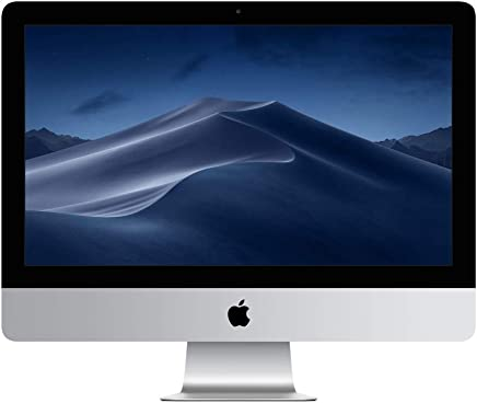 Apple iMac (21.5-inch Retina 4K display, 3.6GHz quad-core 8th-generation Intel Core i3 processor, 1TB) (Latest Model)