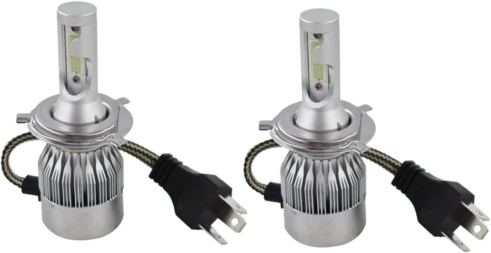 labwork 2X H4 72W 7200LM Max depot 77% OFF 8000K LED YZF Headlight 0 R1 for Yamaha