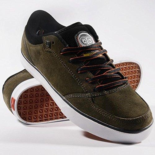 Adio Skateboard Schuhe Cascade Green/Black/White, Schuhgrösse:38