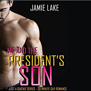 Me & the President's Son audiobook cover art