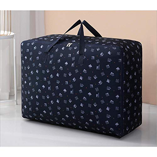 N / C Storage Bag Oxford Cloth Quilt Thickened Household Moving Packing Finishing 50x35x22cm (19.69x 13.78x 8.66 In)