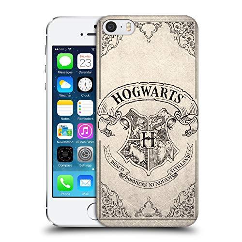 Head Case Designs Licenza Ufficiale Harry Potter Hogwarts Pergamena Sorcerer's Stone I Cover Dura per Parte Posteriore Compatibile con Apple iPhone 5 / iPhone 5s / iPhone SE 2016