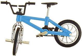 Retro Mini Finger BMX Bicycle Assembly Bike Model Toys Flick Trix Finger Bikes Toys BMX Bicycle Novelty Gag Toys Kids Funn...