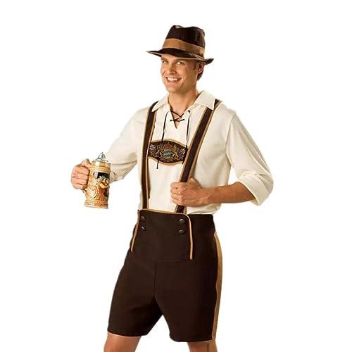Disfraz de Traje bavaro de hombre vestido de Oktoberfest Costume suit  Regional de Baviera Cosplay para 88539a73832
