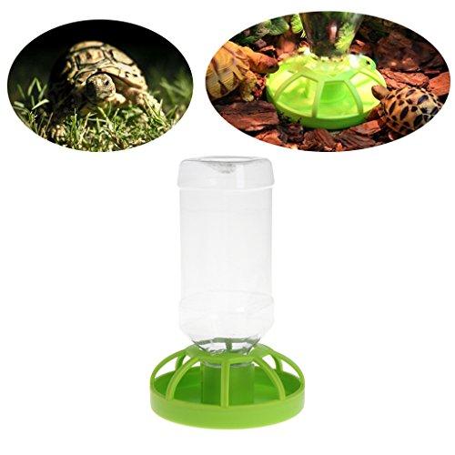 Yanhonin Schüssel für Reptilien, automatisch, Wasserspender für Reptilien, Schildkröte, Lebensmittelschüssel, Pet Bowl