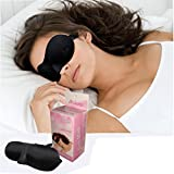BXT Starsource Comfortable 3D Seamless Eye Mask Sleep Eyeshade Velvet Eyeshade Blinder for Cozy Pacify Sleeping
