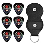 Journey バンド ロゴ ギターピック オシャレ ベース、カポタスト ギター、カポ アコースティックギター、ウクレレ、エレキギター用 ピック トライアングル 6枚セット プレゼント 0.96mm