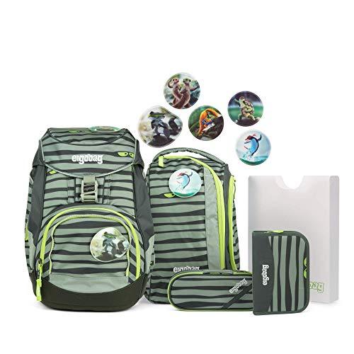 Ergobag ERG-SET-001-9K0 Schulrucksack, Unisex, grün
