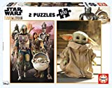 Educa Borras The Mandalorian 2 Puzzles x 500 Piezas, Multicolor (18871)