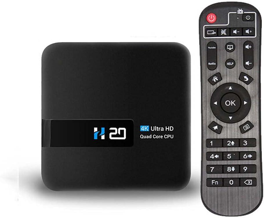 JIMITI HD 2.4G Video Equipments 4K Multimedia Player H20 Smart TV Box TV Box Set Top Box WiFi Media Player(AU Plug)