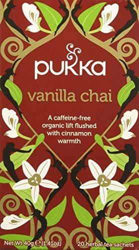 Pukka Vanilla Chai, 20 Filtri, 40g