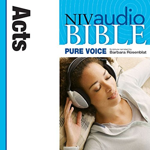 NIV New Testament Audio Bible, Female Voice Only: Acts audiobook cover art