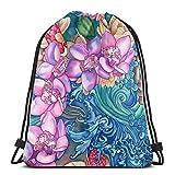 okiedog wildpack JUNGLE FEVER 85021 borsone con compartimento per scarpe ORCHIDEA rosa fucsia//lilla
