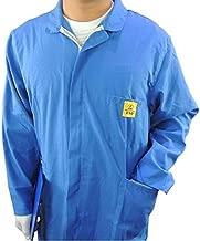 Anti-Static ESD Lab Coat Long Sleeve - Conductive Grids (Medium, Blue), [Importado de Reino Unido]