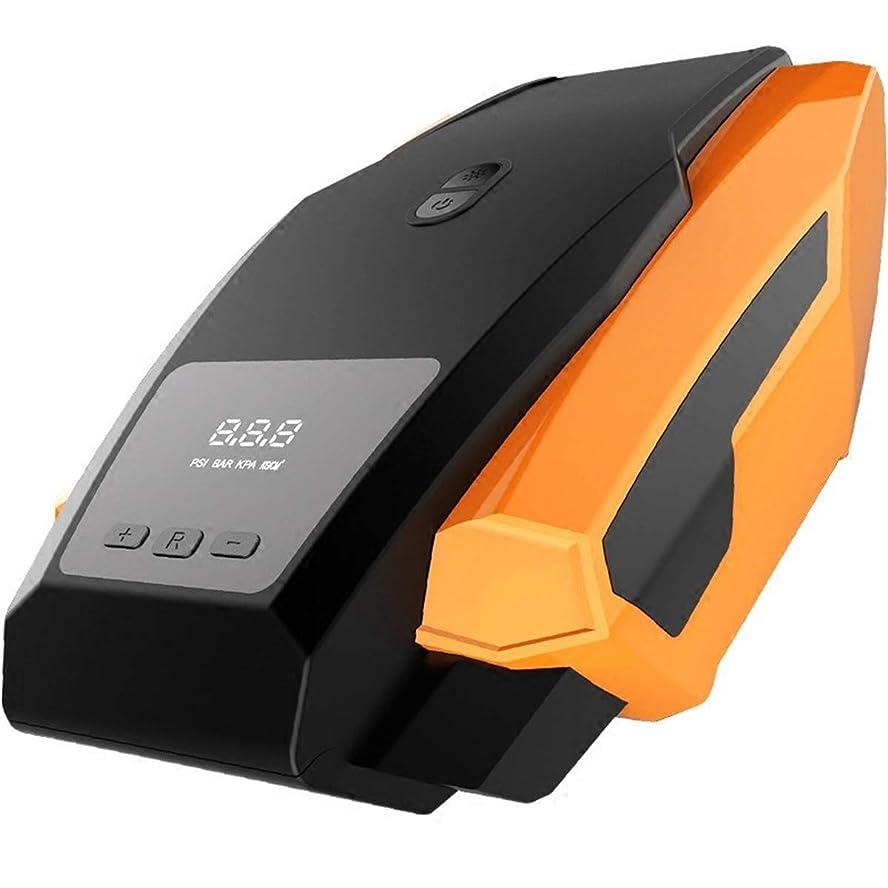 引き出すドライ心理的に空気圧縮機、車の空気のマットレス等のためのパッキングLCDスクリーン12V DC 120PSIが付いている車の空気ポンプ電気デジタル携帯用空気圧縮機