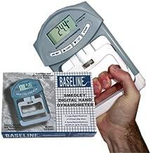 Fabrication Enterprises Baseline Electronic Smedley Hand Dynamometer, Adult, 200 lb./ 90 kg #12-0286 by Baseline