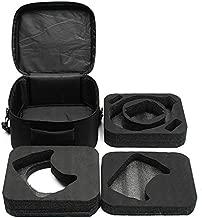 Generic Realacc Shoulder Bag Hand Case Zipper with 2 Layer EVA Sponge Pad Detachable for DJI Goggles