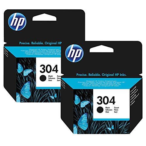 2cartucce di inchiostro Deskjet 3720,nero.Cartucce originali HP