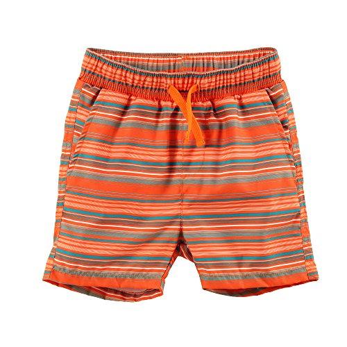 ESTAMICO Pantaloncini da Bagno Casual da Spiaggia per Bambino Arancioni 14 Anni