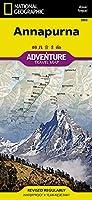 National Geographic Adventure Map Annapurna: Nepal