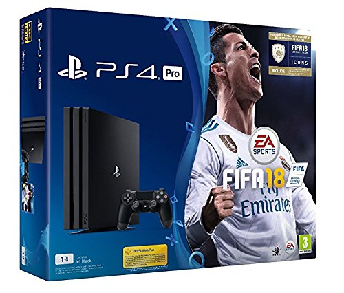 PlayStation 4 PRO + FIFA18 [Bundle]
