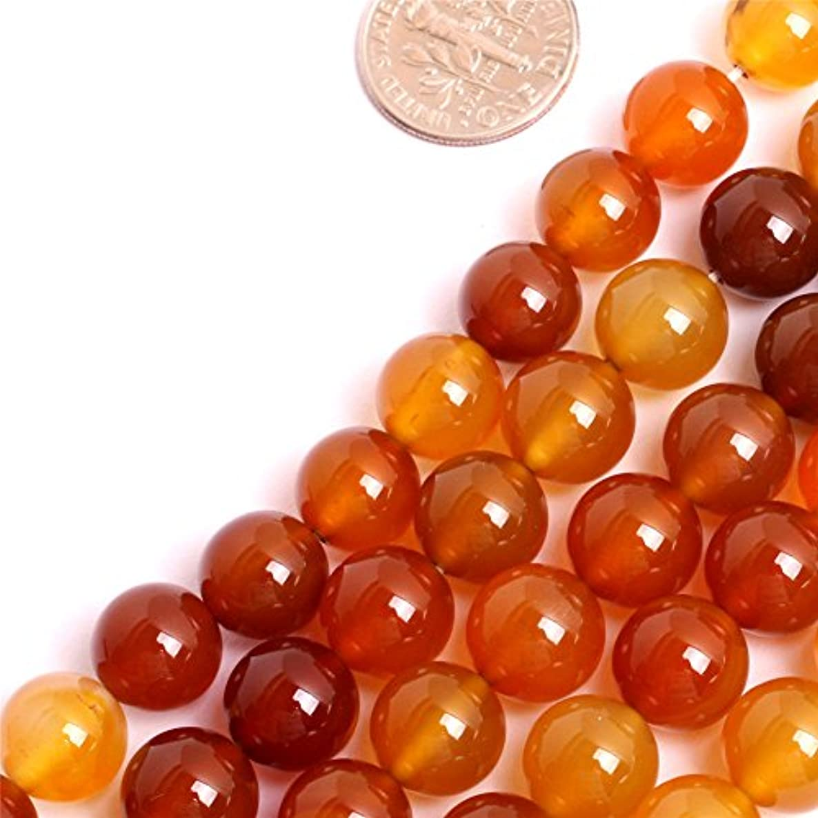 GEM-inside Botswana Agate Gemstone Loose Beads Natural 12mm Round Bronw Crystal Energy Stone Power For Jewelry Making 15