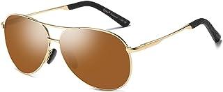 Cyxus Gafas de Sol para Hombres Lente polarizada 100%