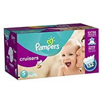 Pampers Cruisers Diapers Size 5 Economy Pack Plus 132 Count by Pampers [並行輸入品]
