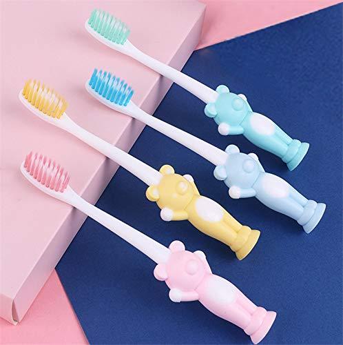 Kids Toothbrushes Toddler Toothbrush Cute Design Soft Bristles Boys Girls...