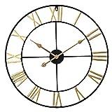 Reloj de Pared silencioso con números Romanos (40 cm), sile