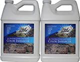Color Enhancer Sealer for All-Natural Stone and Pavers. Marble, Travertine, Limestone, Granite, Slate, Concrete, Grout, Brick, Block.