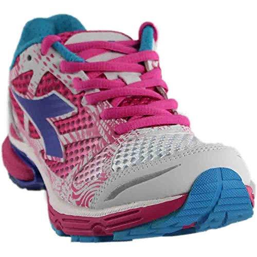 Diadora Womens N-6100-2 Running Casual Shoes, Pink, 5.5