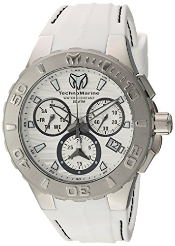 TECHNOMARINE MEN'S CRUISE MEDUSA 44MM STEEL CASE SWISS QUARTZ WATCH...